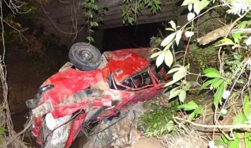 Un Moskovich cae por un barranco en Pinar del Río; se reportan cinco muertos y un herido
