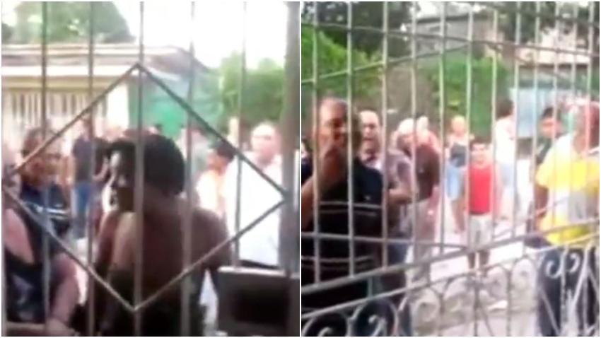 Acto de repudio protagonizado por seguidores de la dictadura en Cuba se hace viral