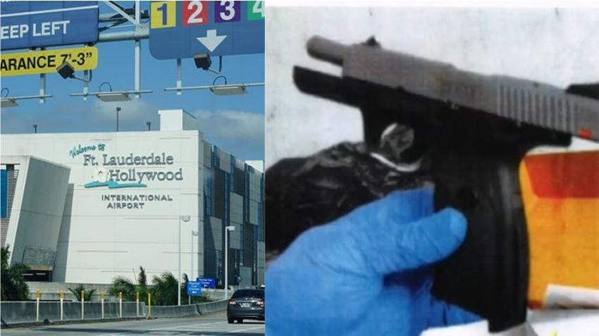 Empleado del Aeropuerto Internacional de Fort Lauderdale es arrestado por esconder un arma y municiones en armario de trabajo