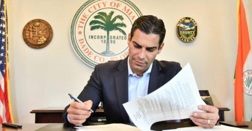 Alcalde de Miami Francis Suárez se pone en auto cuarentena debido a precauciones por el coronavirus