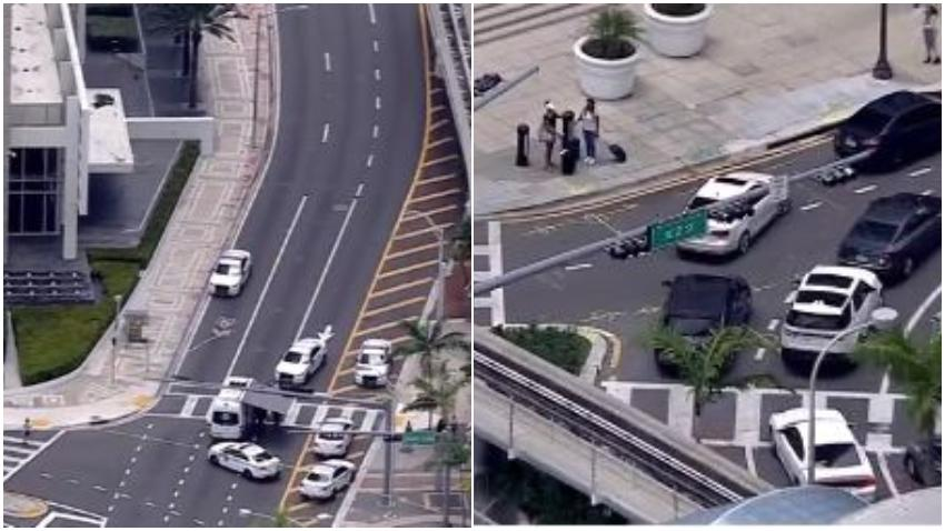 Autoridades investigan una alerta de bomba en el Downtown de Miami