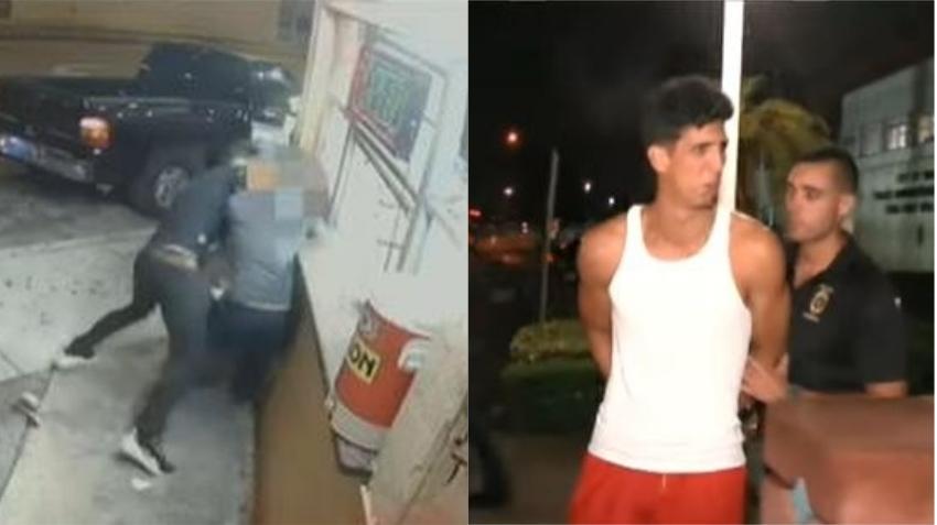 Policía de Hialeah arresta a joven cubano acusado de asaltar a un hombre en una cafetería para quitarle la billetera