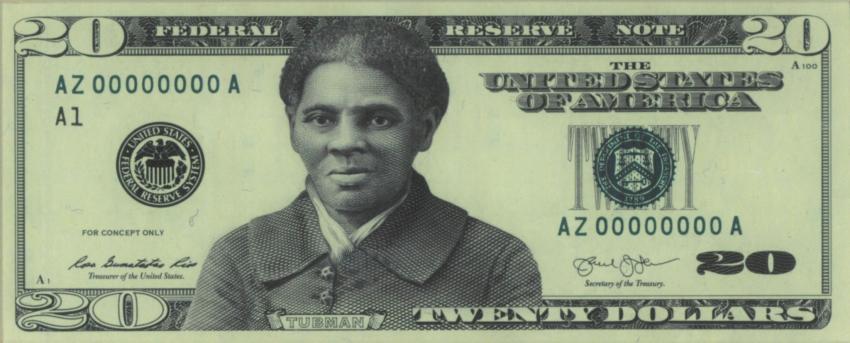 Se filtra diseño de nuevo billete de 20 dólares que lleva la figura de Harriet Tubman
