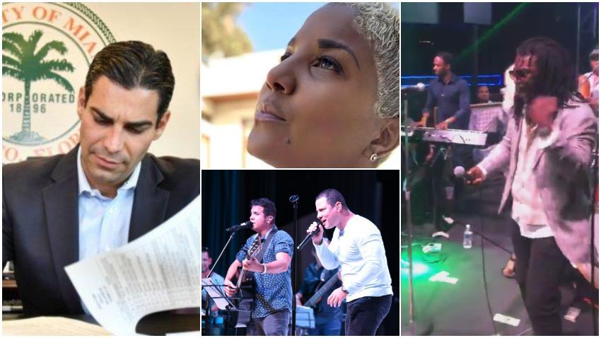 Comisión de la ciudad de Miami aprueba por unanimidad pedir al Congreso una ley que les permita prohibir las presentaciones de músicos y artistas que defienden a la dictadura en Cuba