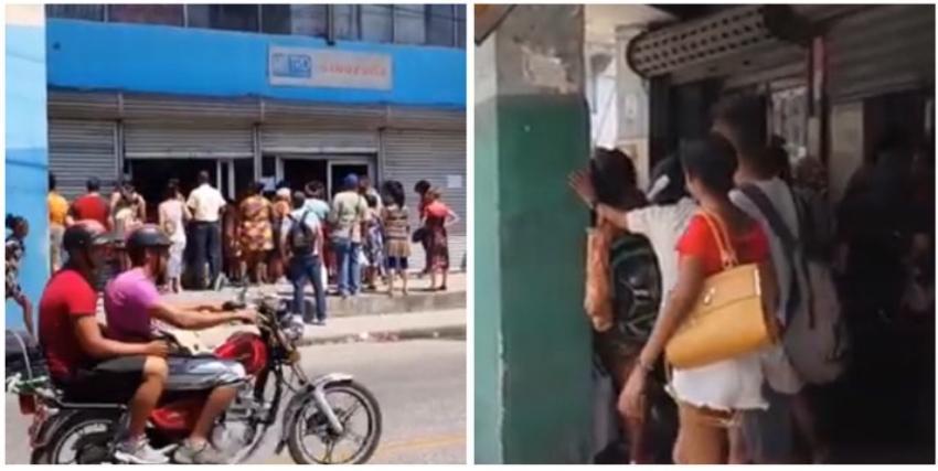 Las colas no cesan en Cuba debido a la escasez alimentaria y el racionamiento