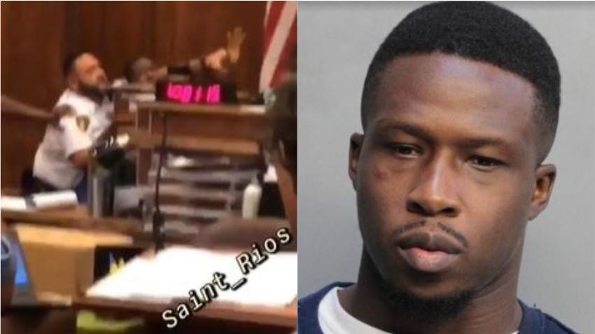 Hombre que se presenta en corte de Miami-Dade arroja heces fecales al juez durante el juicio