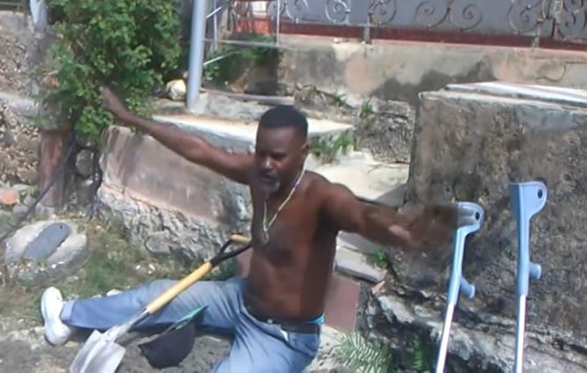 Cubano que quedó discapacitado en la guerra de Angola se queja de las condiciones en que vive y reclama al gobierno que lo ayude