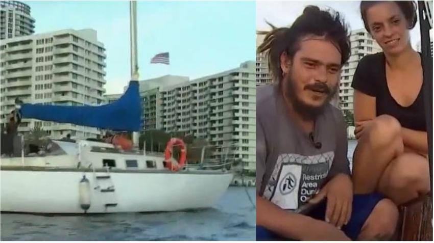 Cubano viaja en velero de España a Miami para ver a su familia
