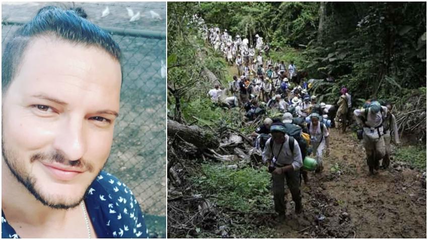 """Cubano escribe carta que recoge el drama en la selva del Darién: """"Carta de despedida de un cubano desaparecido en la selva"""""""