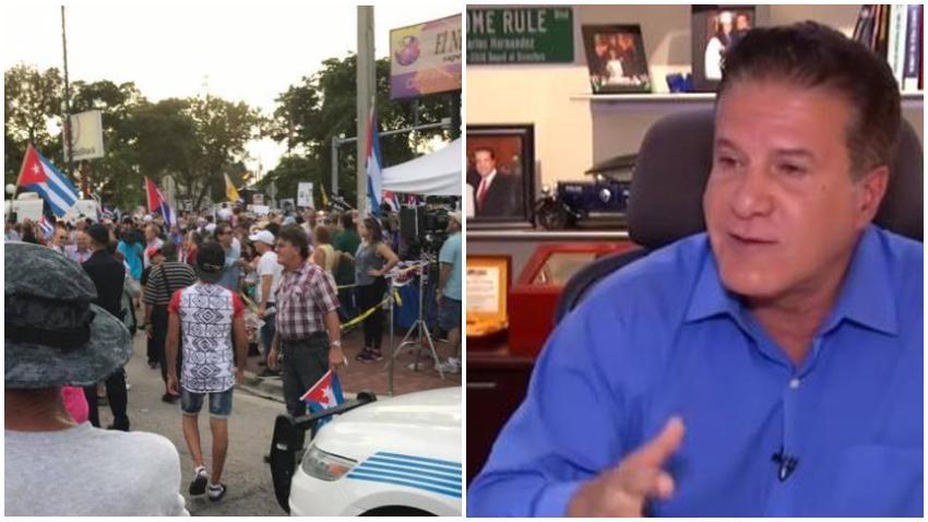 Cubanos en Miami mayoritariamente a favor de la decisión del alcalde de Hialeah de suspender concierto de reguetoneros cubanos el 4 de julio según encuesta