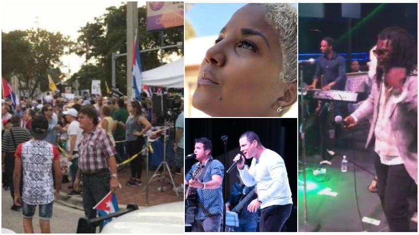 Cubanos en Miami en su mayoría apoyan iniciativa de la ciudad para cancelar el intercambio cultural