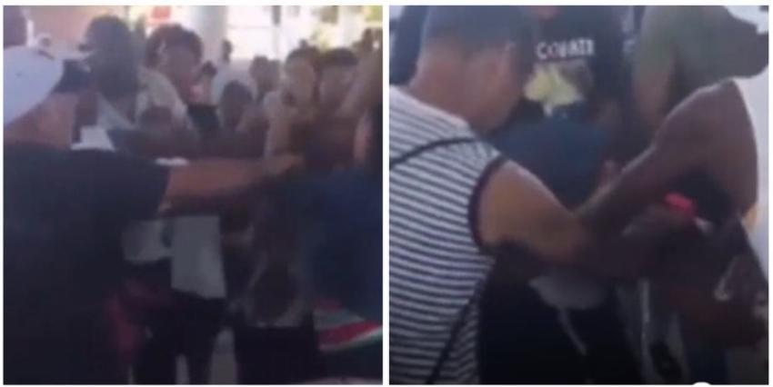 Habaneros se pelean en una cola para comprar carne de cerdo en Cien y Boyeros