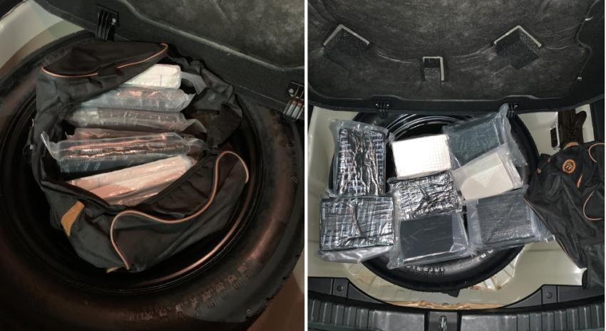 Autoridades en el sur de la Florida encuentran fentanilo por valor de millones de dólares adentro de un vehículo que parecía estar abandonado
