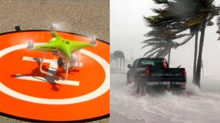 El Departamento de Bomberos de Miami-Dade utilizará drones para detectar situaciones de emergencia en esta temporada ciclónica