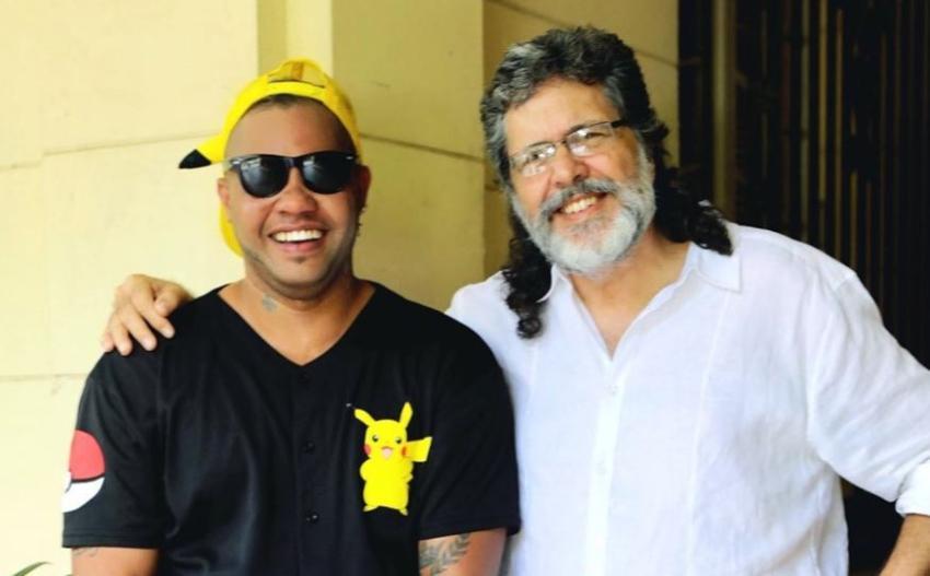 """Reguetonero cubano El Taiger se retrata junto a Abel Prieto y lo elogia """"Que grande el Ministro"""""""