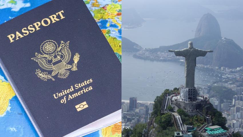 Brasil elimina requisito de visa para ciudadanos de Estados Unidos