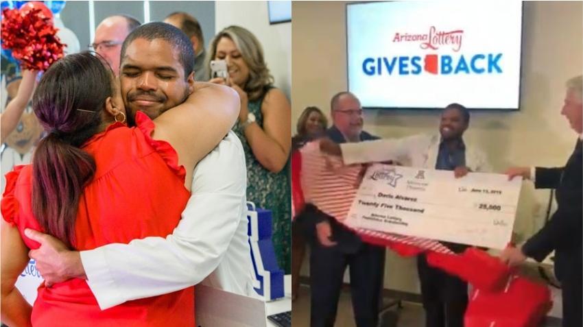 Un cubano en Arizona se gana una beca de $25000 dólares para terminar sus estudios de medicina