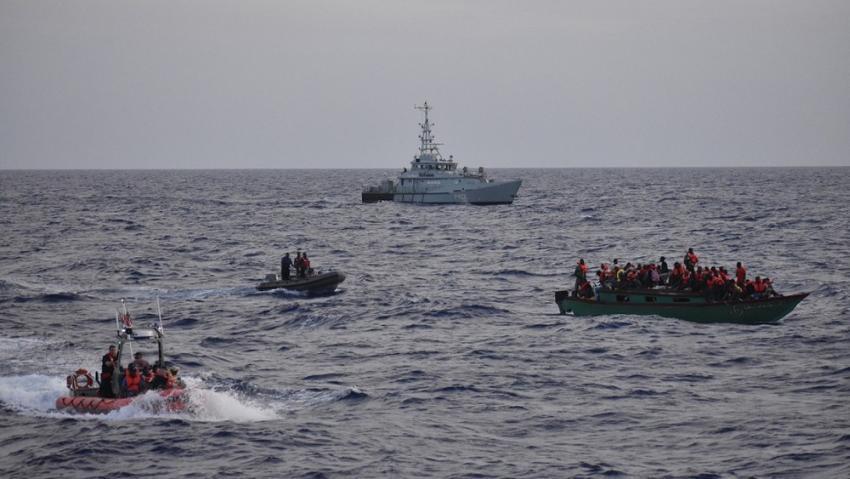 Autoridades de Estados Unidos interceptan a 33 balseros cubanos cerca de los Cayos de la Florida