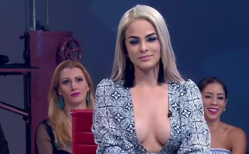 Cantante y modelo cubana Haniset Rodriguez asegura que Don Francisco le toco una nalga