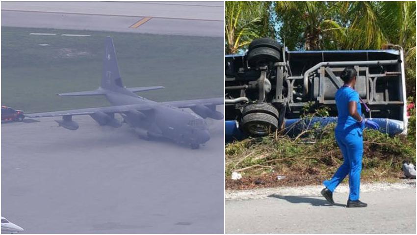 Turistas que se encontraban de vacaciones en un crucero de Carnival por Bahamas tuvieron que ser transportados de urgencia a Estados Unidos después de un accidente