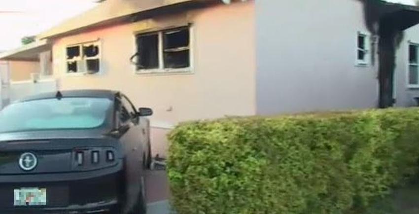 Un incendio en Sweetwater consume la vivienda de una familia cubana