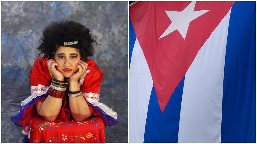 """Actriz cubana Judith González a los que la critican por hablar de política: """"Antes de humorista soy cubana"""""""