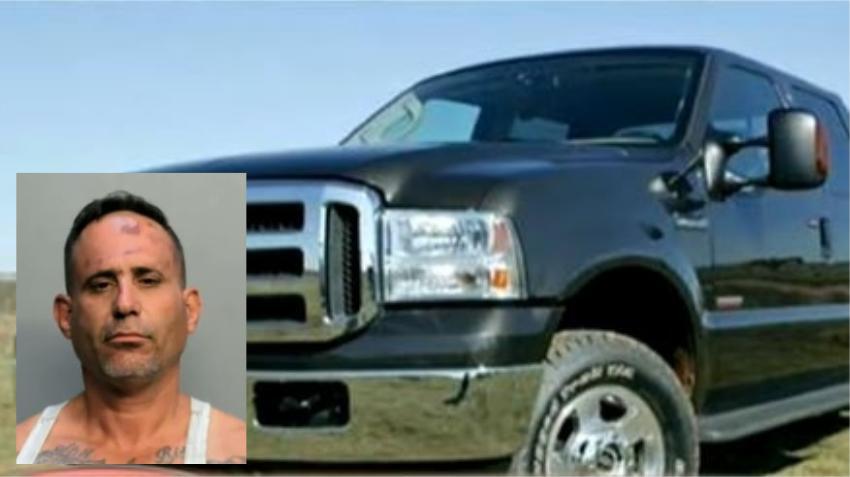 En corte un cubano que desató una ola de robos de camionetas Ford F250 en Hialeah y Miami
