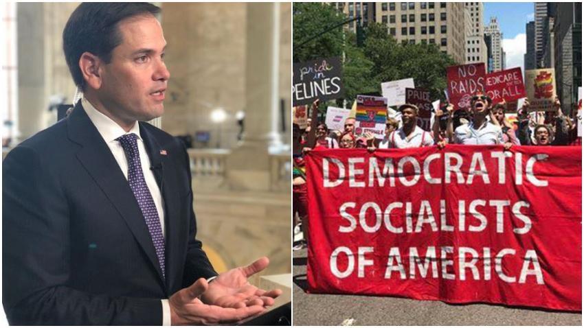 """Senador Marco Rubio advierte sobre el Socialismo Democrático en Estados Unidos: """"La izquierda ignora la historia increíblemente destructiva del socialismo"""""""