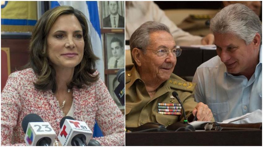 Congresista cubanoamericana Maria Elvira Salazar aplaude la inclusión de Cuba en la lista de países patrocinadores del terrorismo