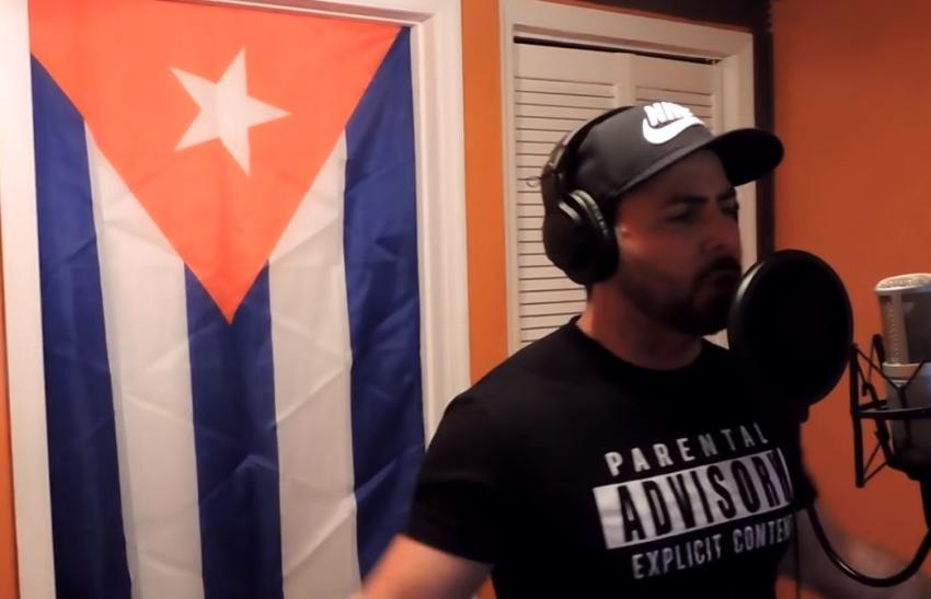"""Rapero cubano Marichal a los músicos del intercambio cultural """"Se la pasan haciendo directas con tremendo alarde pero para hablar por Cuba son tremendos cobardes"""""""