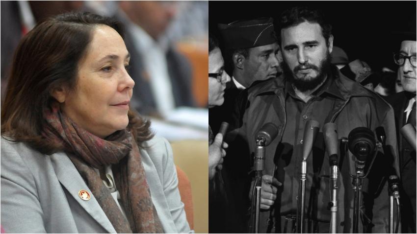 Mariela Castro intenta describir como Hitler tomó el poder pero termina describiendo a Fidel Castro