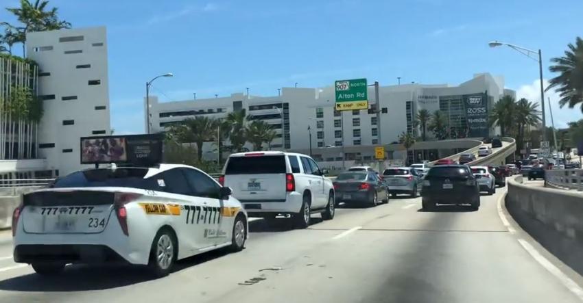 Rampa de acceso a Alton Rd en el MacArthur Causeway en Miami Beach cerrará por dos semanas debido a reparaciones