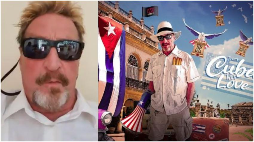 Multimillonario estadounidense John McAfee inicia campaña presidencial en Estados Unidos desde Cuba