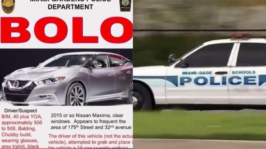 Policía de Miami Gardens busca a conductor que intentó subir a una adolescente en su vehículo en contra de su voluntad