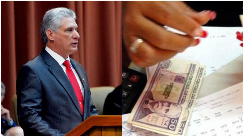 Díaz-Canel anuncia un incremento de salario en Cuba; el salario medio en Cuba ahora será de $42.6 dólares