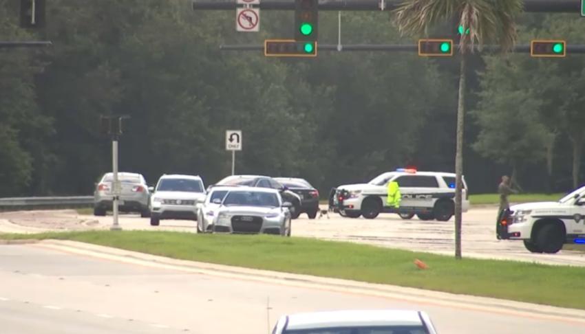Hombre abre fuego contra policías en el Sur de la Florida