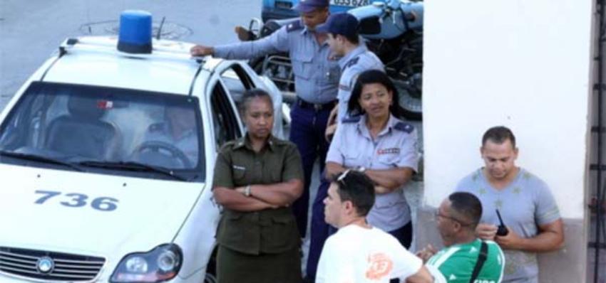 Vigilancia permanente en la sede de las Damas de Blanco, y en las viviendas de las activistas, denuncia Berta Soler