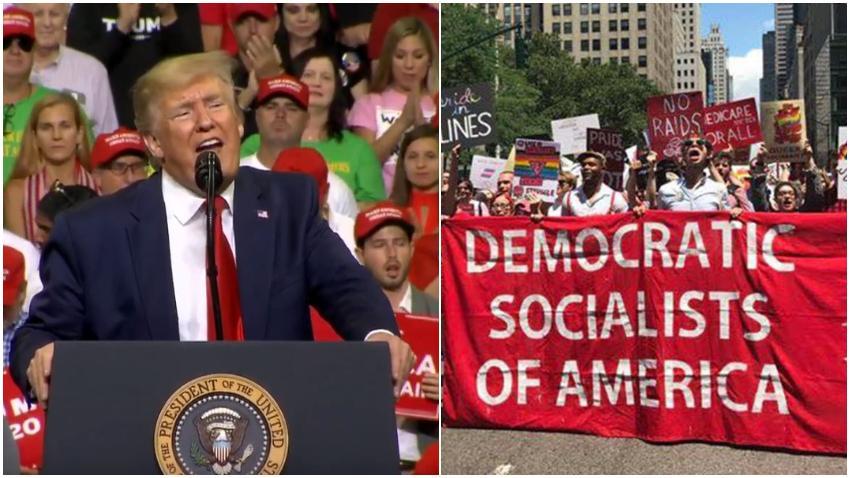 Presidente Trump se acuerda de Cuba durante el inicio de su campaña para reelegirse y reafirma que Estados Unidos nunca será socialista