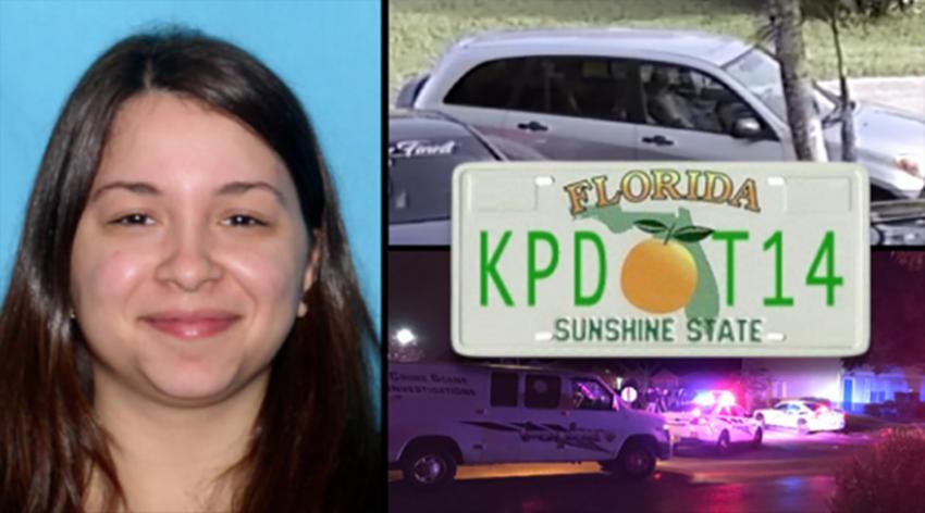 Detenida mujer de Florida buscada por las autoridades por matar a su hija y a su padrastro