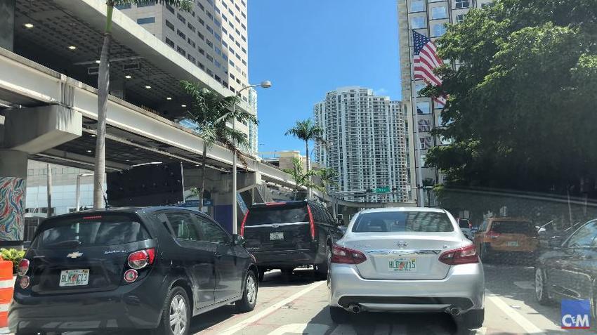 Tráfico congestionado y cierres viales este miércoles y jueves en el downtown de Miami