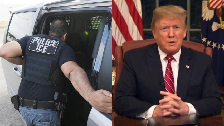 Trump anuncia que retrasará las deportaciones de ICE por dos semanas