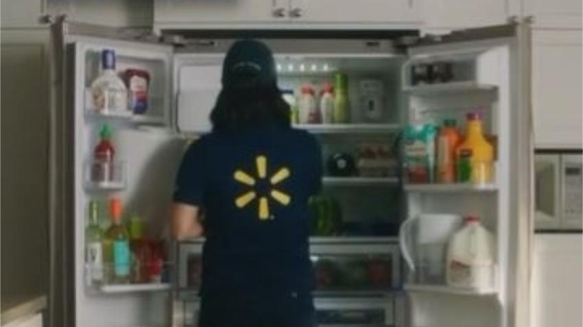 Walmart anuncia programa de entrega de comestibles donde un trabajador accede a tu vivienda cuando no estás y deja las compras en el refrigerador