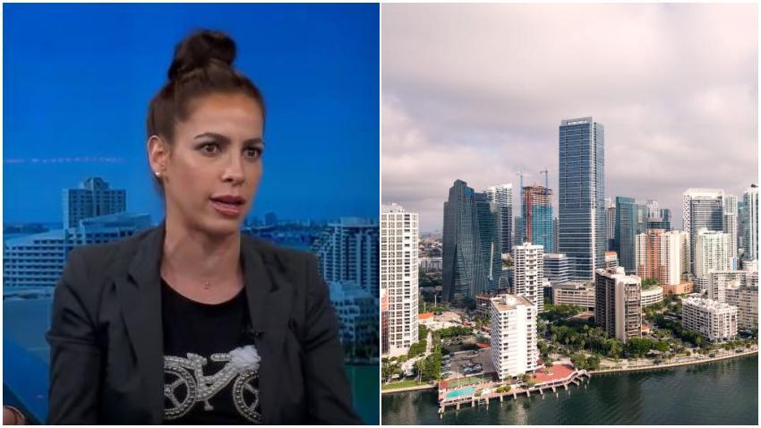 Actriz cubana Zajarís Fernández confiesa que la ha pasado mal con el aumento desmedido de las rentas en Miami