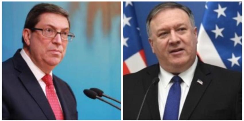"""Bruno Rodríguez calificó de """"mentiroso"""" al Jefe de la diplomacia estadounidense Mike Pompeo"""