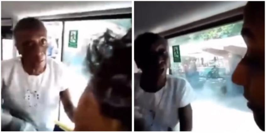 """Anciana cederista en una guagua en Cuba: """"¡Hijo de mala madre, a Fidel me lo respetas!"""""""