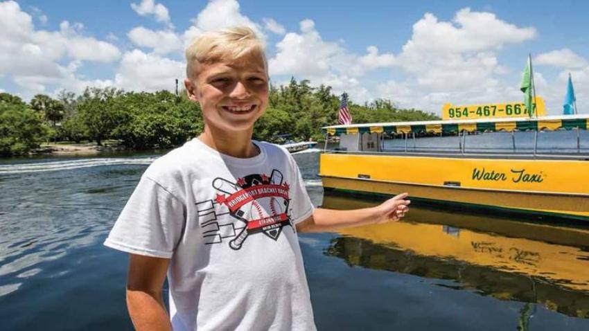 Los pequeños de la casa podrán disfrutar gratis del Taxi acuático de Fort Lauderdale durante todo el verano