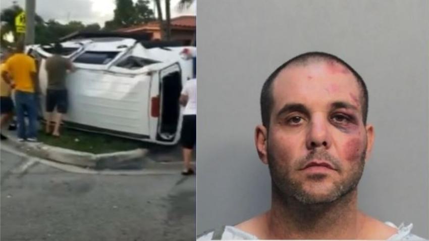 Identifican a hombre que provocó fatal accidente en Hialeah; olía a alcohol, tenía la licencia suspendida, y múltiples violaciones de tránsito previas