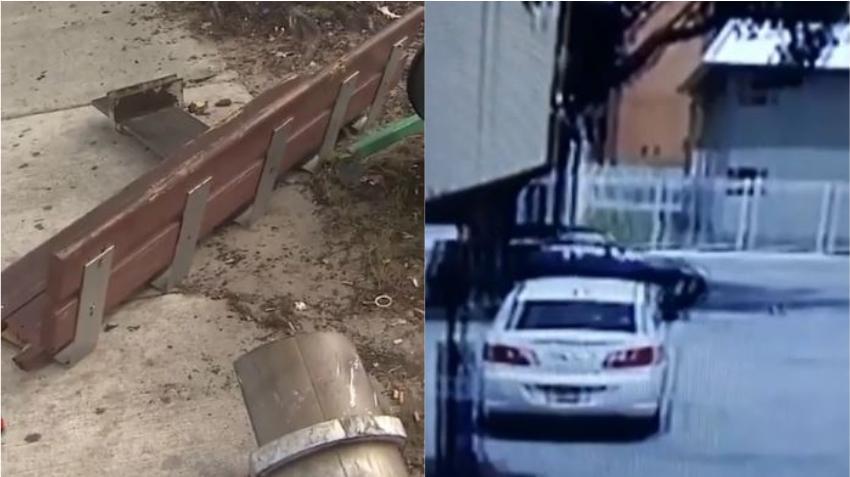 Policía arresta a un conductor que arremetió contra una parada de autobús en Miami donde había una persona y se dio a la fuga