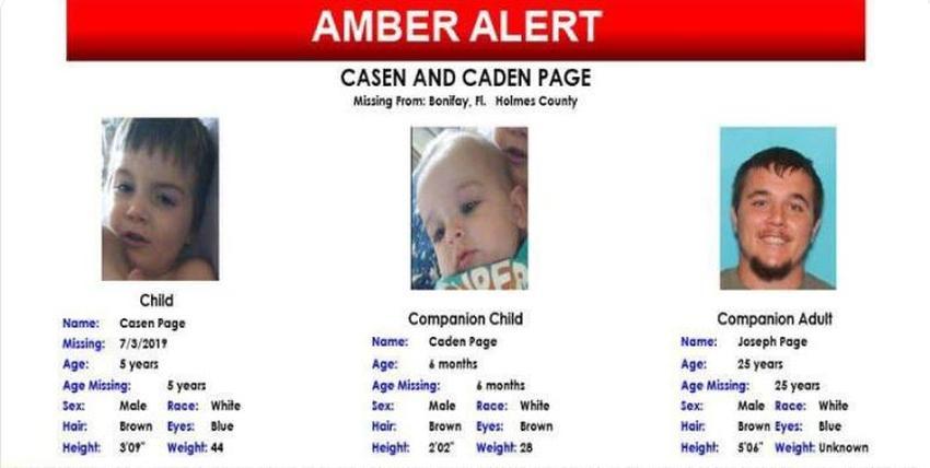 Emiten Amber Alert por dos niños desaparecidos en Florida