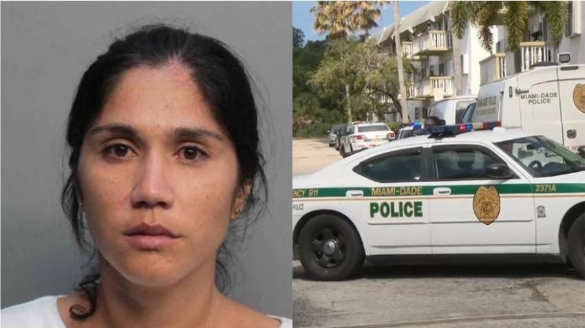 Mujer cubana de Miami arrestada tras amenazar con matar a su ex marido luego de encontrarlo en la cama con otra